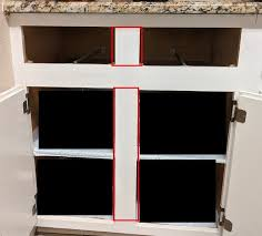 how to replace base cabinets remove center stile from kitchen cabinets with a granite