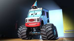 monster truck videos 2010 monster truck mater debuts and cars toon dvd blu ray coming soon