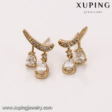earrings malaysia 93257 alloy jewelry manufacturer 18k gold earrings wholesale