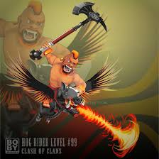 clash of clans hog rider hog rider coc clashofclans by bobyberto on deviantart