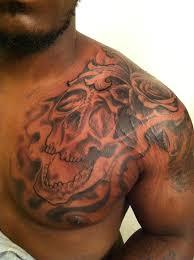 girly back designs whimsical tattoos skull