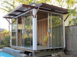 Enclosed Patio Windows Decorating Exterior Design Fancy Outdoor Wood Awning Ideas For Your Exterior