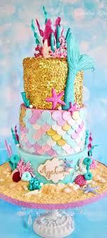 451 best mermaid cakes not ariel images on mermaids