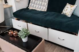 diy storage futon tutorial apartment therapy