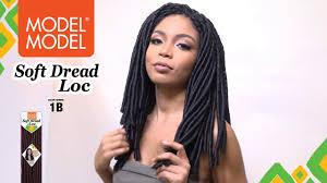 toyokalon soft dread hair model model soft dread loc youtube