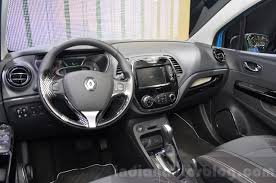 renault captur interior renault captur dashboard at the 2016 geneva motor show indian