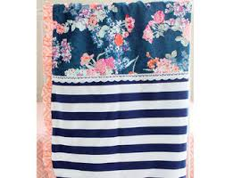 Navy And Coral Baby Bedding Coral Baby Bedding Etsy