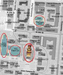 Ut Campus Map Event Location Map U2013 Pharmacy New Student Orientation
