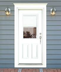 Feather River Exterior Doors White Exterior Door Feather River Door Fiberglass Entry Doors Mini