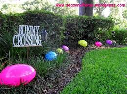 Diy Christian Easter Decorations by Best 25 Outdoor Easter Decorations Ideas On Pinterest Happy