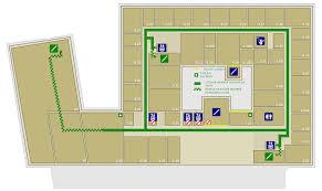 Fire Evacuation Route Plan by Informatics Forum Emergency Evacuation