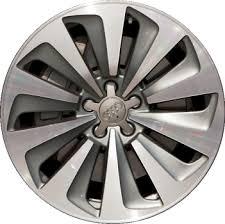 audi q5 rims and tires aly58930 audi q5 wheel grey machined 8r0601025aj