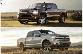 2018 chevrolet silverado vs 2018 ford f 150 head to head u s