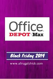 black friday 2014 office depot max sales