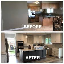 kitchen makeover with cabinets before and after kitchen makeover by cabinet wholesalers