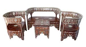 moroccan mother of pearl living room set moroccan furniture los