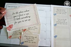 12 days of romance scavenger hunt with printable