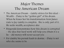 themes of wealth in the great gatsby in class notes on the great gatsby