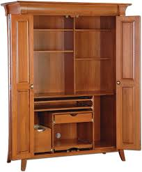 Amish Computer Armoire Collection Of Solutions Maxwell Puter Armoire With Additional