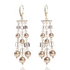 and pearl chandelier earrings 47 chandler earrings jayne bridal jewelry wedding earrings
