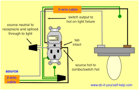 wire switch with outlet wonderful imagine wiring diagram split