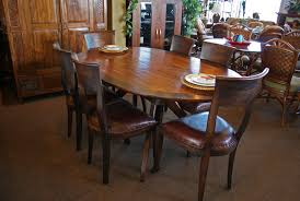 oval dining table for contemporary dining room 747