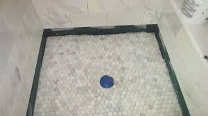 shower stone shower awesome concrete shower floor 15 tile