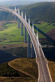millau viaduct in southern france highest bridge columns in the millau viaduct in southern france highest bridge columns in the world and highest