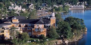 Church Converted To House by Mill Falls Premier Resort On Lake Winnipesaukee