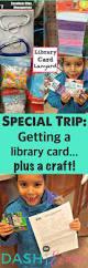 fun kid craft library card lanyards dash of evans