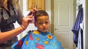 4 year old boy haircut how to cut little boy haircut youtube
