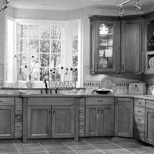 Black Distressed Kitchen Island by Antiquing Kitchen Cabinets With Paint Voluptuo Us