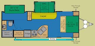 salem travel trailers floor plans 01 u2013 2007 u2013 25 u2032 salem travel trailer u2013 courtenay car centre