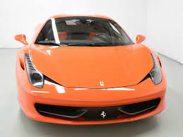 orange ferrari 2015 ferrari 458 spider for sale in norwell ma 203958 mclaren