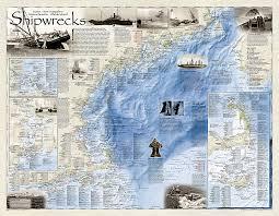 florida shipwrecks map shipwrecks of the northeast tubed