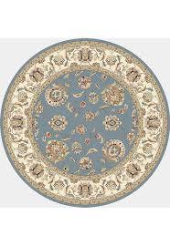 Porcelain Blue Rug Dynamic Rugs Ancient Garden 57365 5464 Lt Blue Ivory 54 Lt Blue