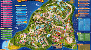 Map Of Orlando Theme Parks by Gardaland Thrillz The Ultimate Theme Park Review Site
