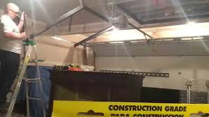 Costco Storage Cabinets Garage by Building A Costco Overhead Garage Storage Unit Youtube