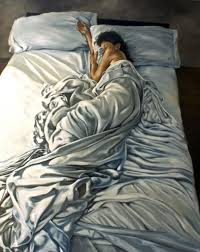 Bed Sheet Designs For Fabric Paint Life Like Painting By Eric Zener Art Bed Sleeping Art