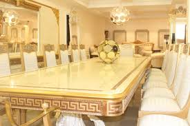 grand 16 seater armada versace dining room set on homewox ng