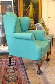 turquoise chair slipcover turquoise wing chair turquoise wing back chair turquoise wing chair