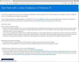how clean up windows 10 with the refresh windows tool operating