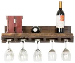 rustic luxe tiered glass rack 1 glass holder rustic wine