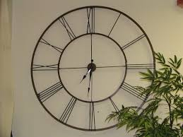 Minimalist Wall Clock Giant Wall Clock Us House And Home Real Estate Ideas