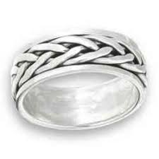 mens spinner rings sterling silver men s spinner rings