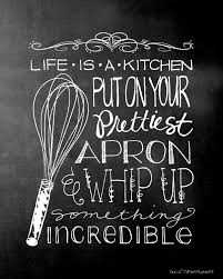 life is a kitchen chalkboard art final 8x10 i heart nap time