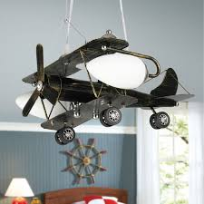 Lights For Boys Bedroom Personality Retro Aircraft Pendant Light Boys Bedroom Ls Led