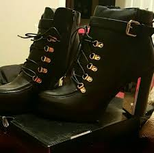 s lace up combat boots size 11 21 torrid shoes lace up combat metal heel boots 12w from