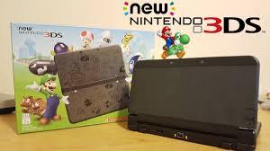 black friday new 3ds xl new nintendo 3ds super mario black edition black friday special