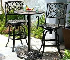 tall pub table and chairs best round patio table sets for your outdoor furniture walls small